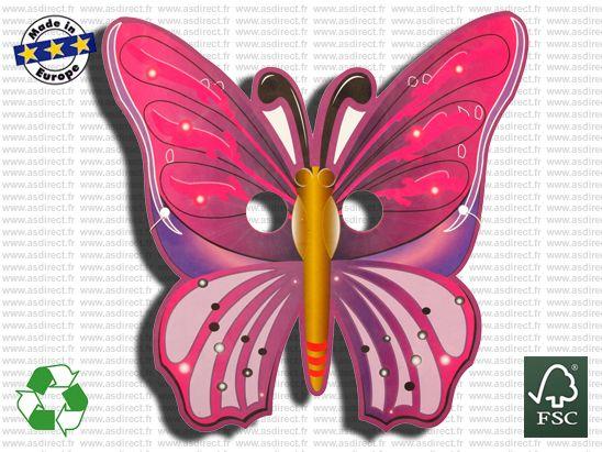 Masque Publicitaire Papillon