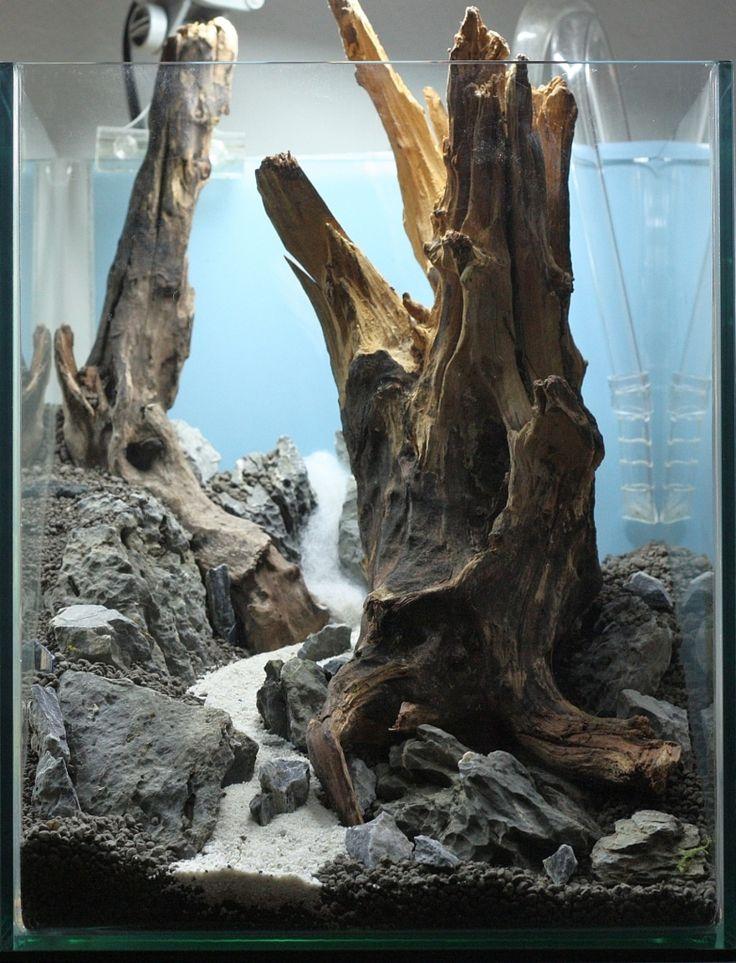 104 best images about hardscape on pinterest rocks for Aquarium cuve