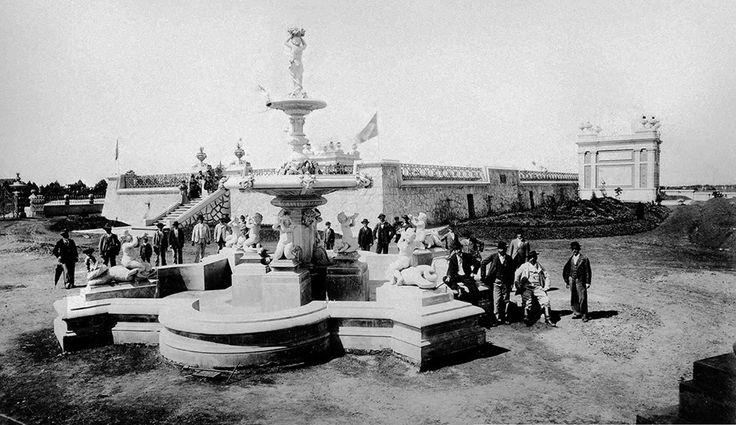 1893 - Reservatório de Água da Liberdade, na atual Praça Amadeu Amaral / SP