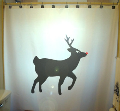 17 best ideas about Christmas Shower Curtains on Pinterest ...