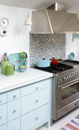 Jurnal de design interior - Amenajări interioare, decorațiuni și inspirație pentru casa ta: Bucătărie în culori pastel