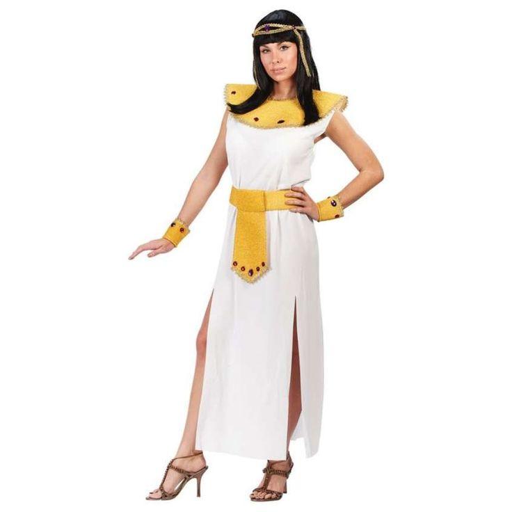 Carnevale: vestiti fai da te per ragazze - Costume da Cleopatra