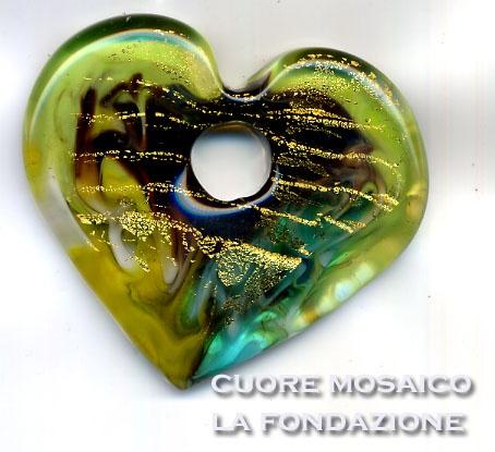 La Fondazione Murano Glass Pendant  www.fondazione.com