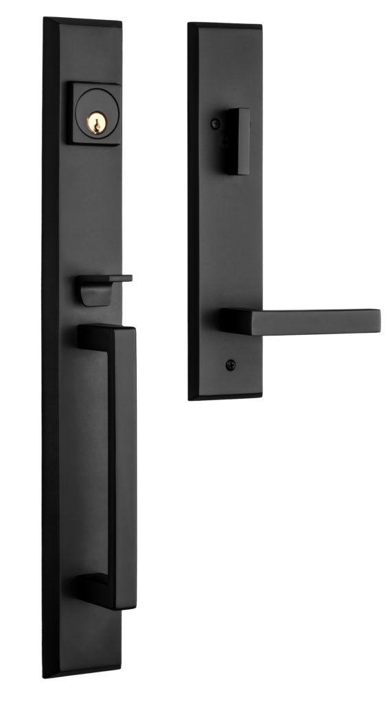 Black Front Door Hardware