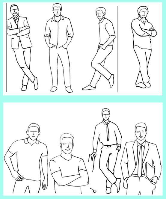 Posição para homens