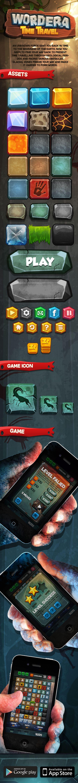 Wordera Mobile Game on Behance