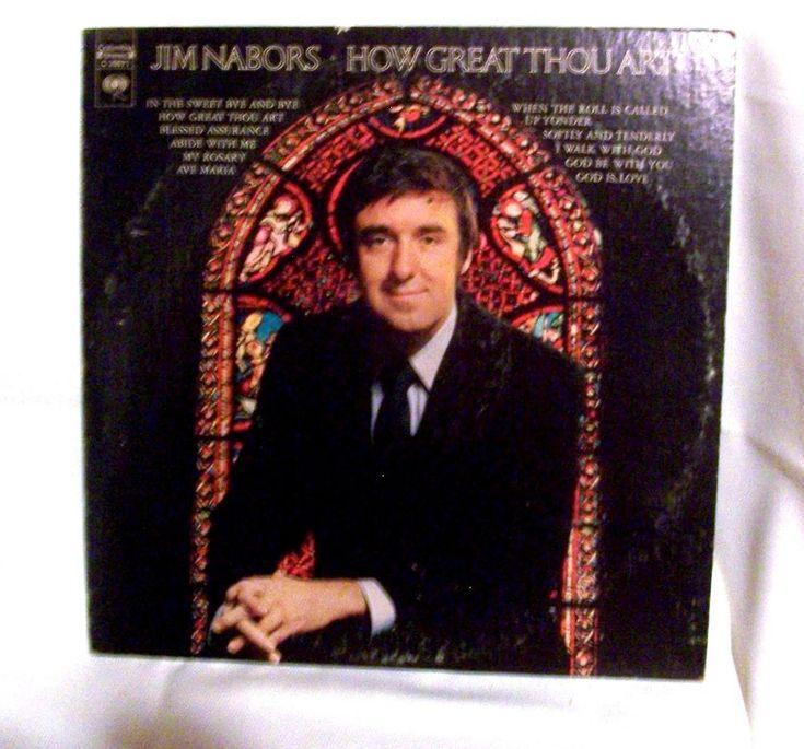 Jim Nabors How Great Thou Art LP 33 Columbia Records C 30671 1971 Gospel