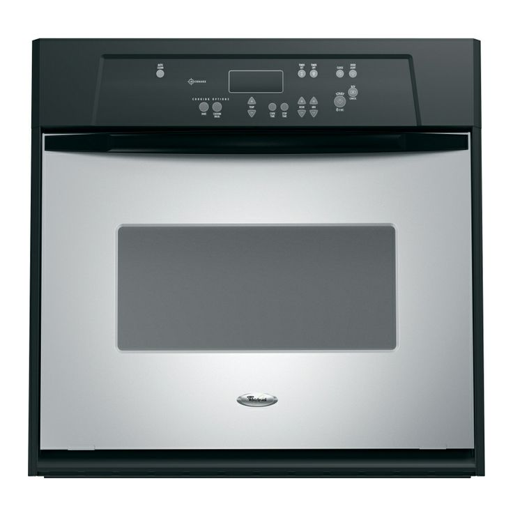 shop whirlpool 24 in self cleaning single electric wall on wall ovens id=97405