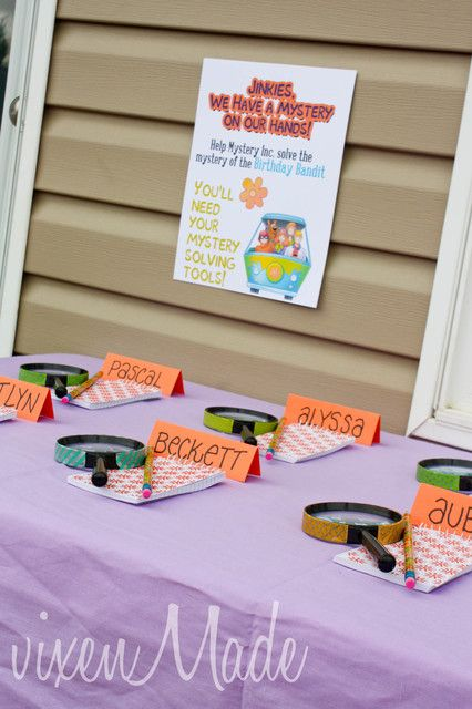 Activities at a Scooby Doo Party #scoobydoo #partyactivities