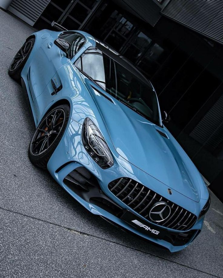 Mercedes-Benz AMG GT-R Coupe - China Blue