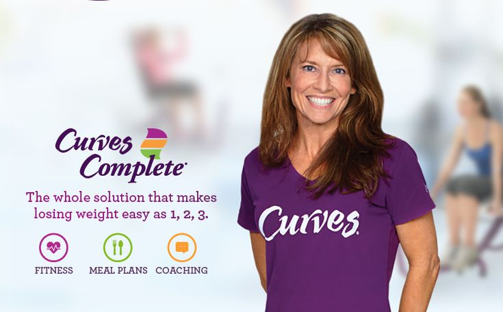 #Curves Complete - The solution that makes losing weight easy as 1, 2, 3. #loseweightfast #weightloss #healthy #women