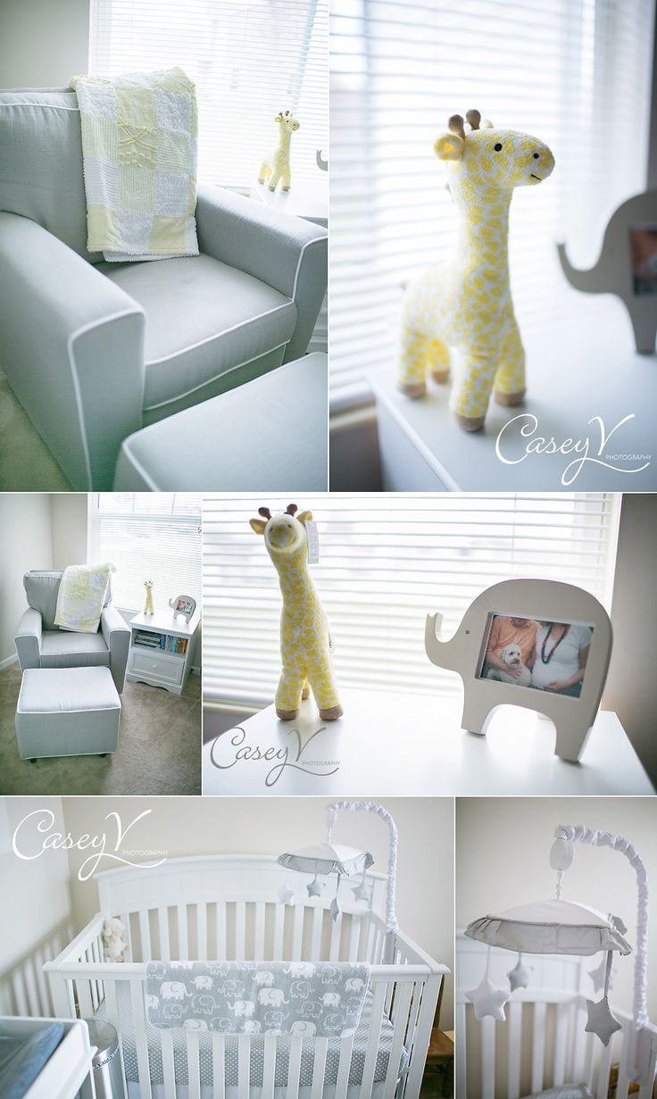 Neutral Baby Nursery, Gray Baby Nursery. Easy To Add Some Pink Or Blue After