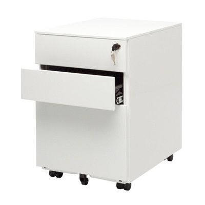 Blu Dot Office 3-Drawer Mobile File Cabinet | AllModern