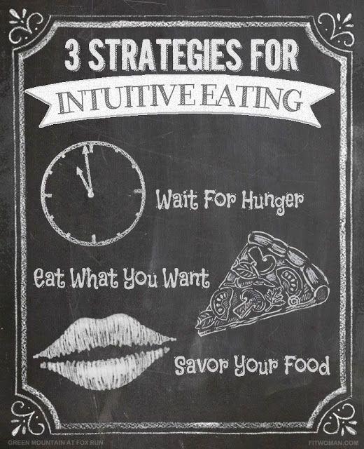 FEEL | Comer de forma Intuitiva - o que é e como pode ajudar nas nossas questões com a comida.