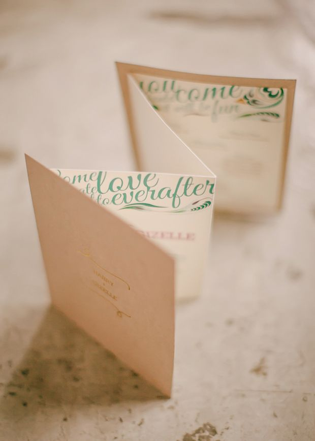 They can be a nightmare to make but these 30 ceremony booklets sure do look…