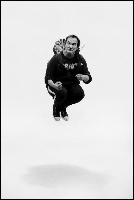 Alex Majoli, Portrait of Quentin Tarantino
