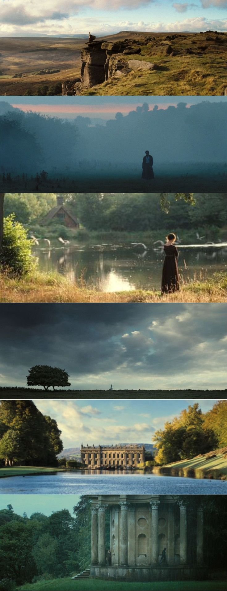 Pride and Prejudice / Scenery (2005), d. Joe Wright, d.p. Roman Osin