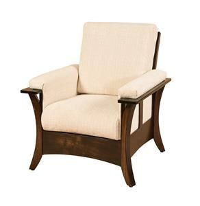 Hesston, Kansas has a large Mennonite and Amish community and our Amish Hesston Lounge Chair is inspired from this city.