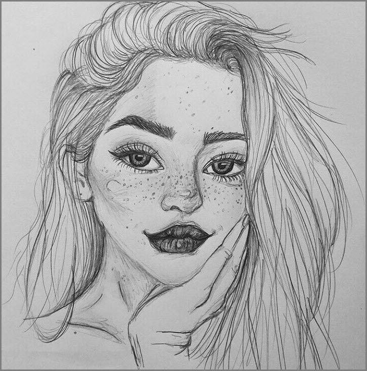 Картинки для срисовки с девушками