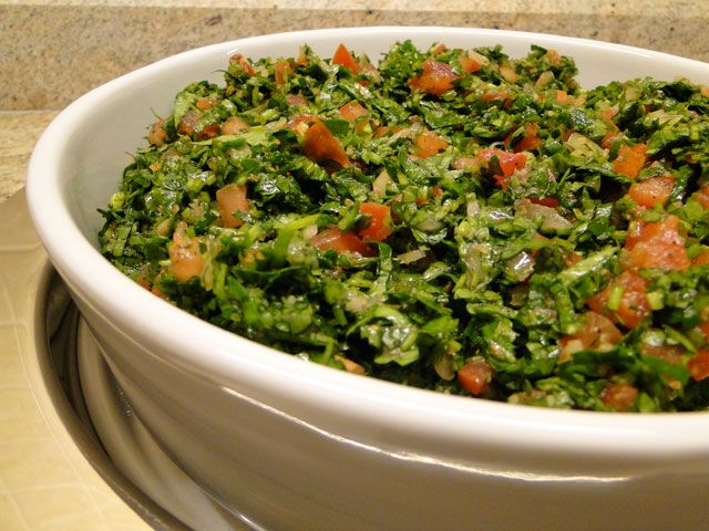 Lebanese tabbouleh | Vegan recipes | Pinterest