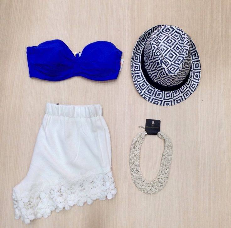 Beach style by Miss Accessories #beachstyle