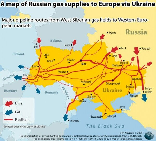 Gas Or Oil Explains Most Of The Modern World S Troubles