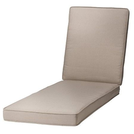 Rolston beige chaise replacement cushion, $150.