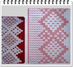 Graficos de puntillas al crochet patrones a ganchillo - Puntillas para cortinas ...