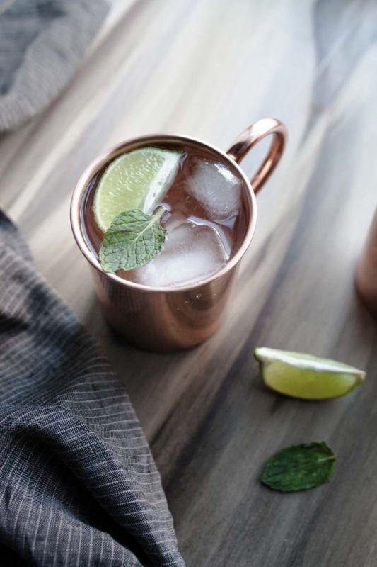 Une mule en cuivre, estampillée des coordonnées de Philadelphie, pour apprécier Moscow Mules, bières, sodas ou d'autres cocktails de votre choix. #plaisir #tendance #barman #mug #tasse #déco #mode #américain#lamaisondelonclesam