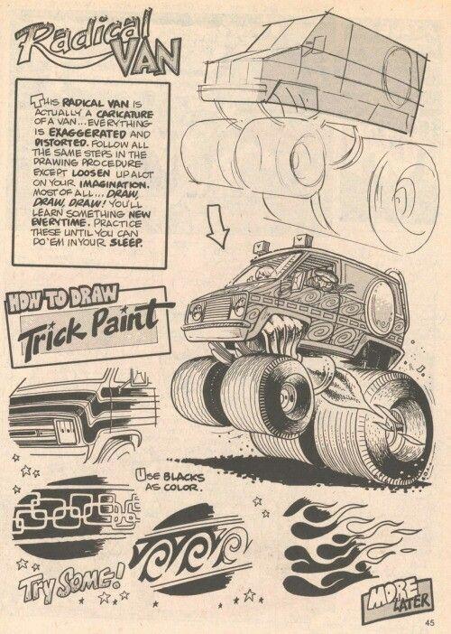 George Trosley - How to draw: Radical Van