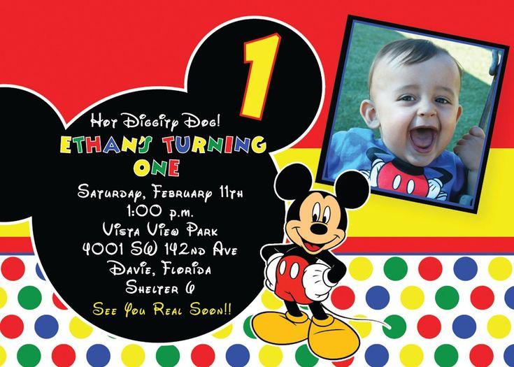 Best 25 invitation card maker ideas on pinterest font maker mickey mouse birthday invitation card maker stopboris Choice Image