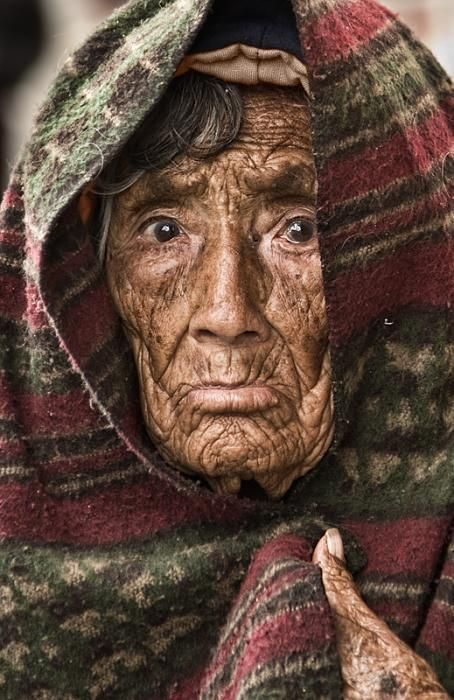 people | faces | old woman | by lev stimring