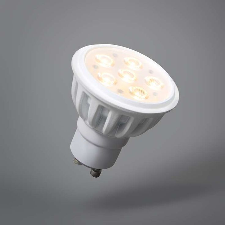 gu10 led leuchtmittel 6w 36 warmwei 440 lumen. Black Bedroom Furniture Sets. Home Design Ideas