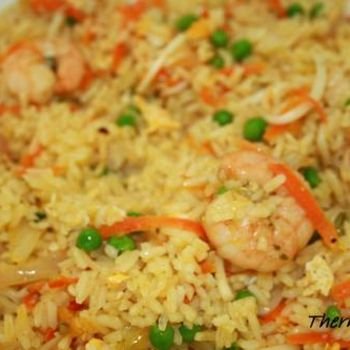 Almost authentic Chinese fried rice