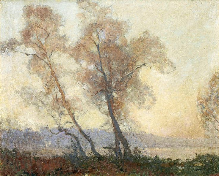 "gruner elioth mystic dawn 1916 sotheby (from <a href=""http://www.oldpainters.org/picture.php?/26828/category/10492""></a>)"