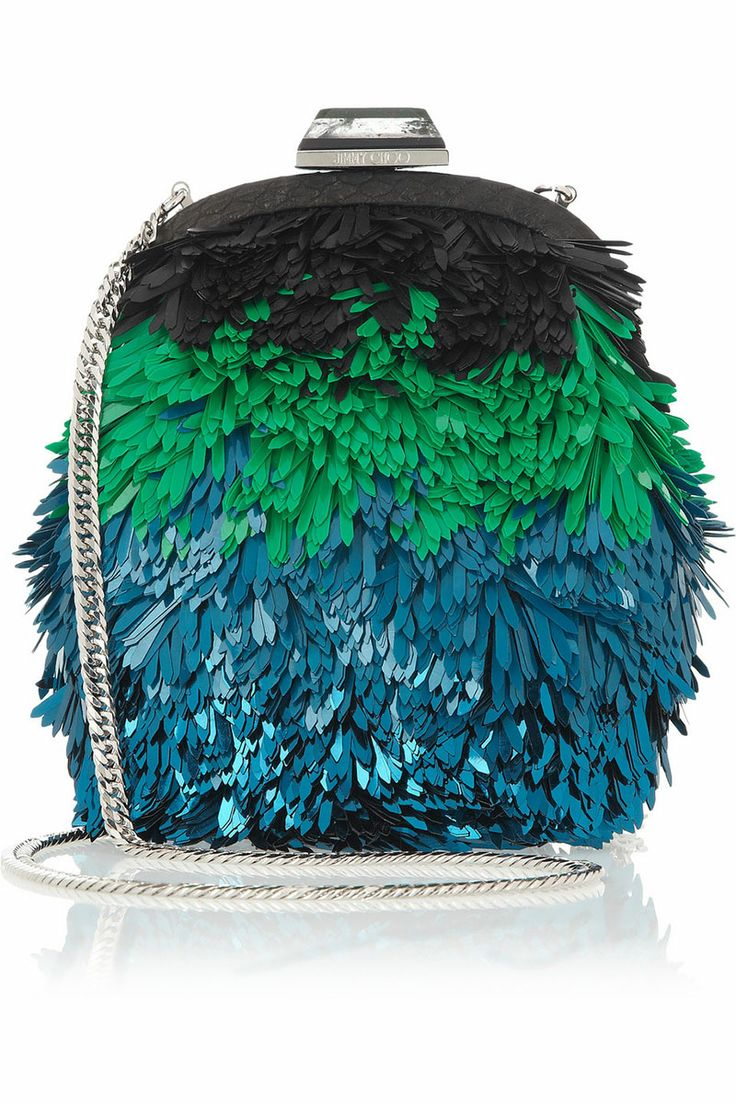 10 Statement-Making Holiday Bags. Jimmy Choo bag, $2,795