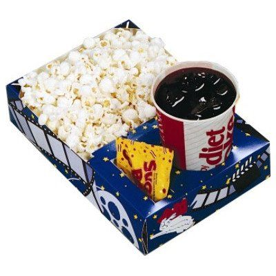 Snappy Popcorn Theater Combo Popcorn Trays, 50/cs, 6 Pound: Amazon.com: Grocery & Gourmet Food