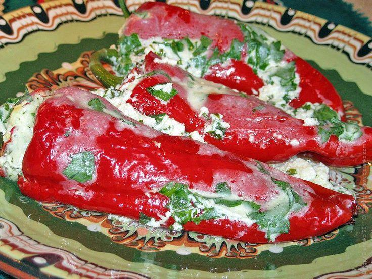 Одни из уникальнейших блюд в Болгарии — фаршированные перцы (пълнени…