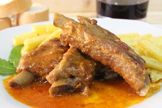Receta para hacer Costillas de Cerdo en Salsa de Ajos Nueva Receta de Julia y sus Recetas La costilla de cerdo es un corte de …
