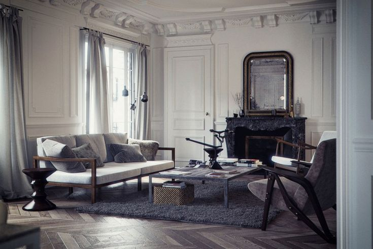 Baron Haussmann by Bertrand Benoit | HomeDSGN, a daily source for inspiration and fresh ideas on interior design and home decoration.