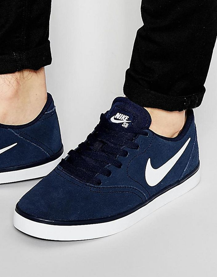 sports shoes 85c75 4c253 Nike SB Check Trainers 705265-410 | Shoes | Sneakers, Nike, Sneakers ...