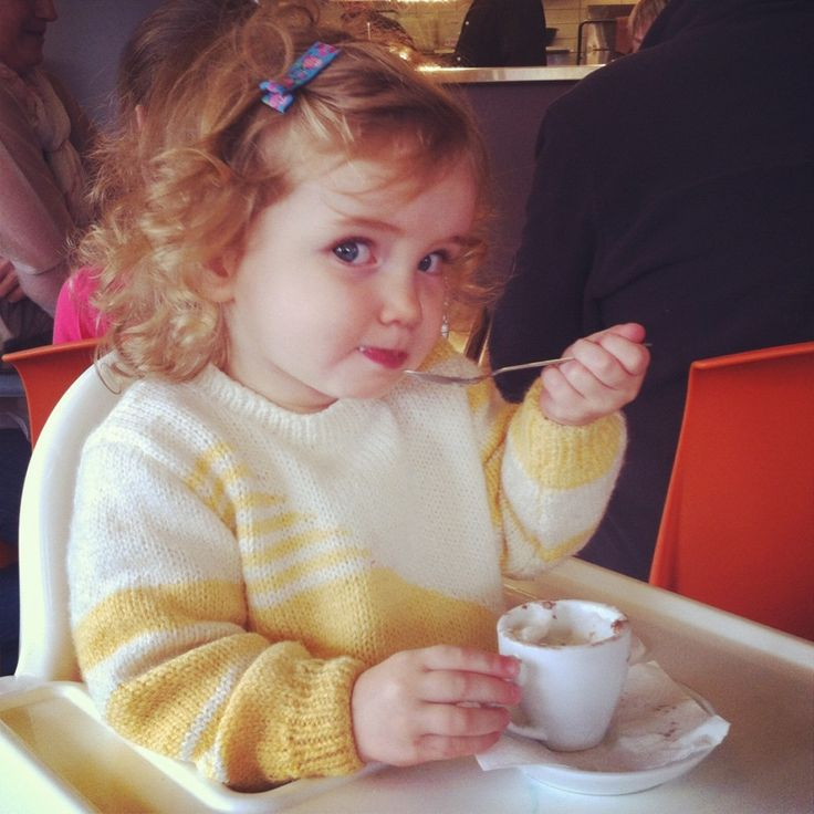 Baby chinos and cheeky language.  A toddler speaking in contradictions.  http://sweetmotherofblog.com/i-stink/  #babychino, #toddlerlanguage,