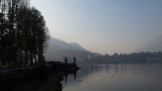 Lecco, vista lago