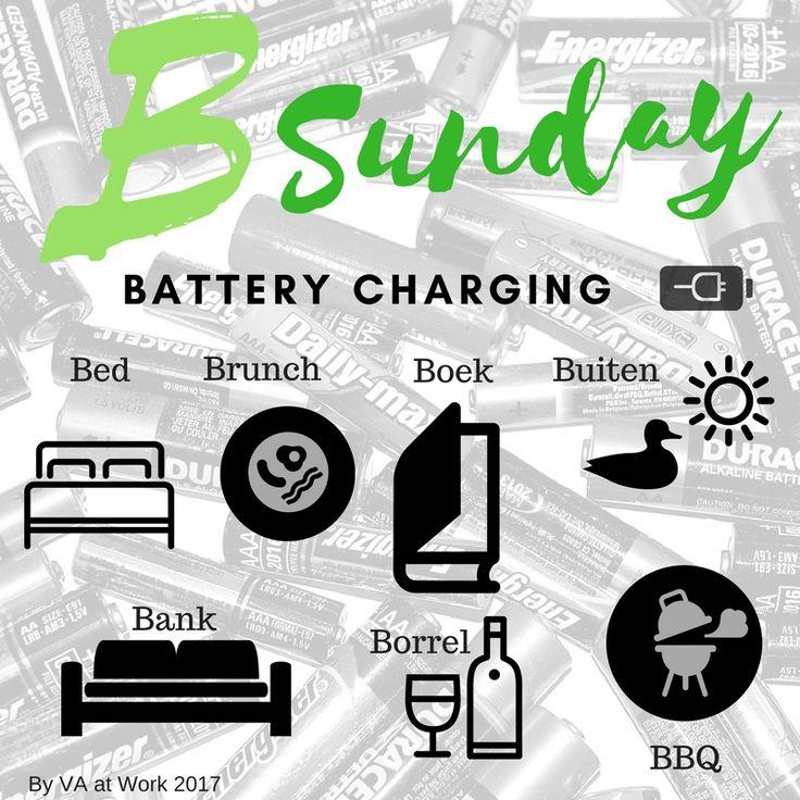 Elke dag een Plaatje met een Praatje. B Sunday! * Bed, ietsje langer, met een uurtje minder * Brunch, met z'n allen uitgebreid aan tafel * Boek, yess, Boekenweek vieren * Buiten, met hond in bos of langs water * Bank, met Boek * Borrel, op de Bank met Boek * BBQ, gewoon zin in! * Batterij weer opgeladen voor een nieuwe week!