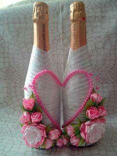 Botella corazon