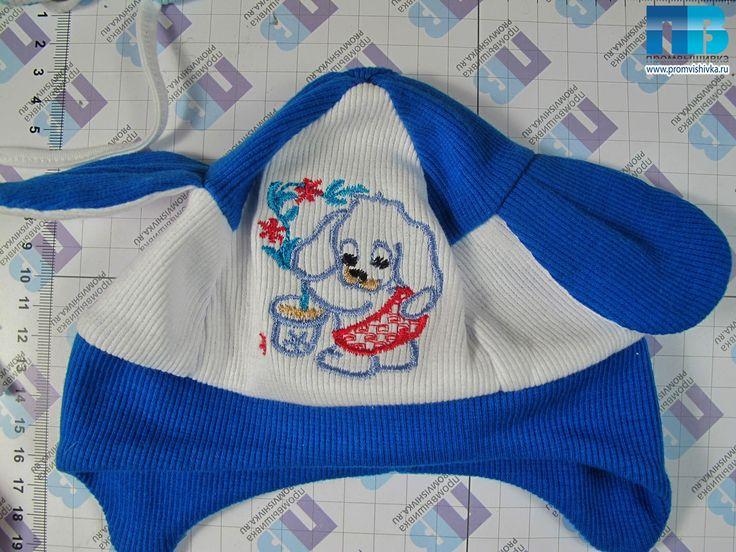 Трикотажная вышивка на детских вещах