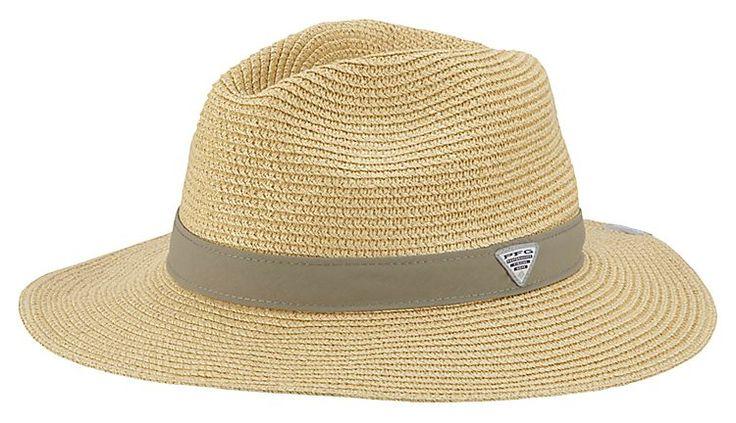 Columbia pfg bonehead straw fishing hat bass pro shops for Bass fishing hats