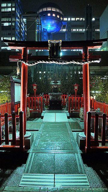"""little-tokyo: """" Odaiba at Night """""""
