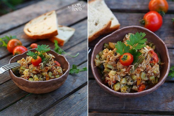 Овощное рагу с кольраби: my_happyfood