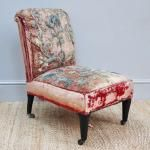 French Antique Appliqued Chair